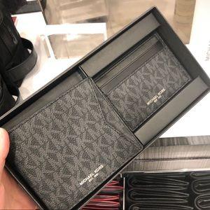 Michael Kors Men's Wallet Gift Set NWT